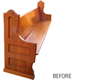 Pew Refinishing and Restoration