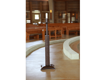Altar and Paschal Candles liturgical furniture