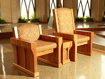 presiders chairs liturgical furniture